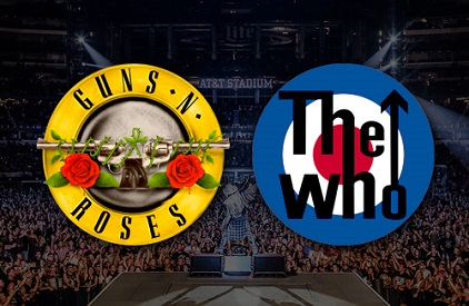 Entradas Guns N Roses + The Who